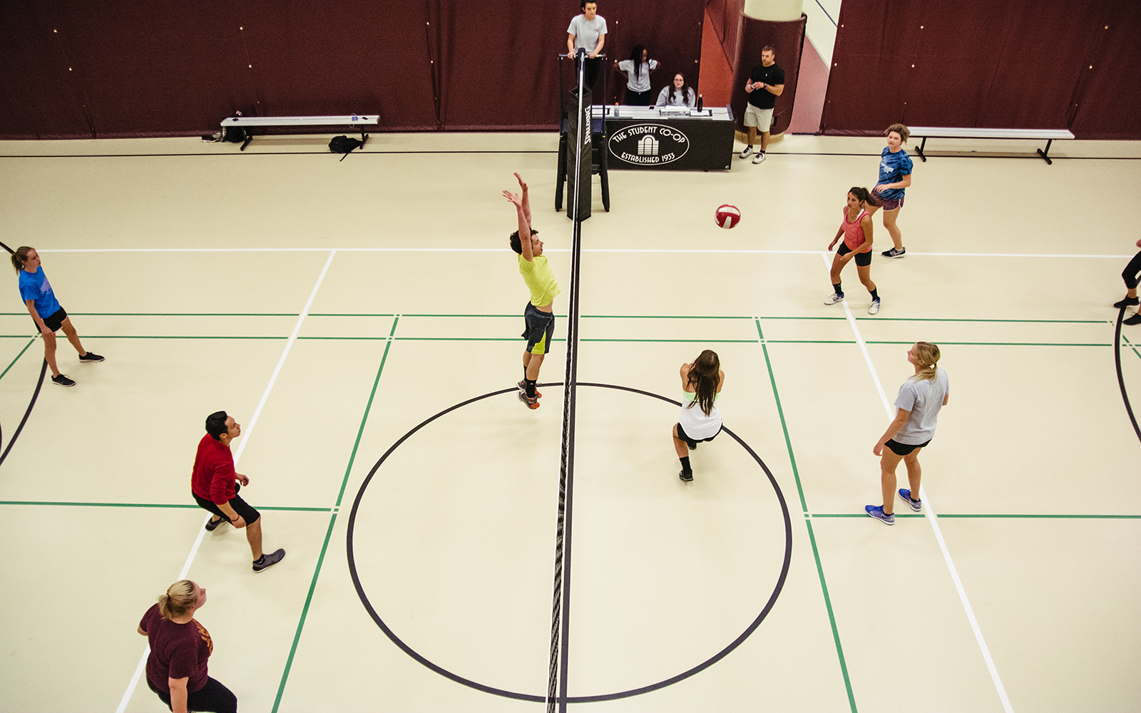 CoRec Volleyball