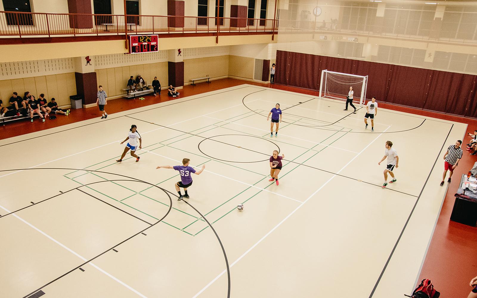 3-on-3 Indoor Soccer